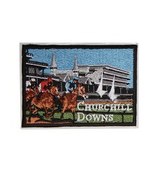 Churchill Downs Embroidered Grandstand Patch