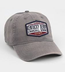 Kentucky Derby 144 Tea Stained Logo Cap Cap