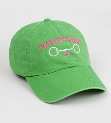 Kentucky Derby 144 Ladies Pigment Dyed Horsebit Cap
