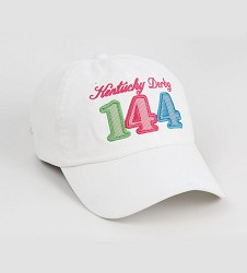 Kentucky Derby 144 Ladies Peached Twill Logo Cap