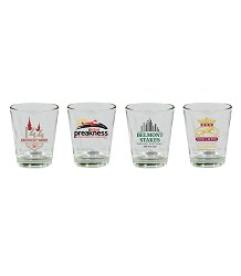 2018 Triple Crown Shot Glass Set