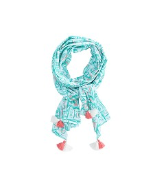 Vineyard Vines 2018 Printed Mint Julep Scarf