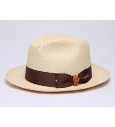 """Charm of Natural"" Straw Fedora"