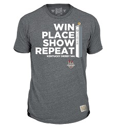 Kentucky Derby 144 Win, Place, Show Tee