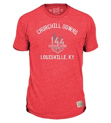 Kentucky Derby 144 Victory Heather Tee