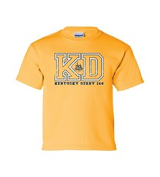 Kentucky Derby 144 Youth Varsity Tee