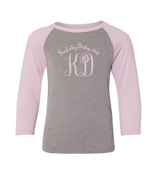 Kentucky Derby 144 Youth Monogram Raglan Tee