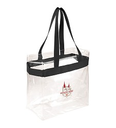 Kentucky Derby 144 Clear Game Day Tote,8KTBG 27856-6