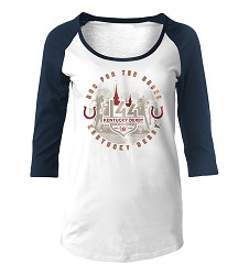 Kentucky Derby 144 Vintage Baseball Raglan