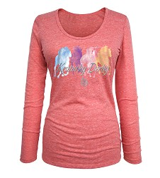 Kentucky Derby 144 Long-Sleeved Triblend Tee