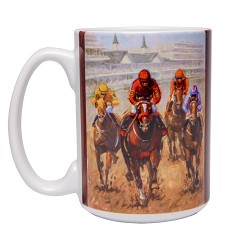 2018 Art of the Derby Sublimated Mug
