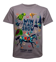 Win, Place, Show Youth Tee