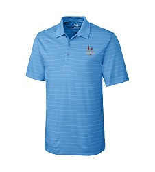 Kentucky Derby 144 Embroidered Franklin Stripe Polo