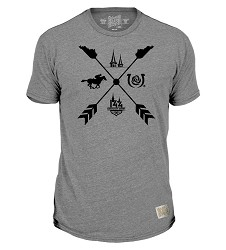 Kentucky Derby 144 Retro Arrow Tee