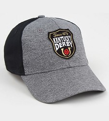 Kentucky Derby Shield Patch Heather 2 Tone Cap