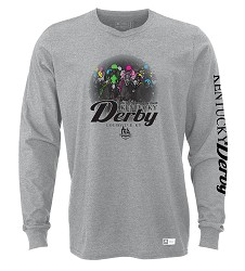 Kentucky Derby 144 Long-Sleeved Head On Tee
