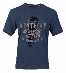 Kentucky Derby 144 Heathered Tee