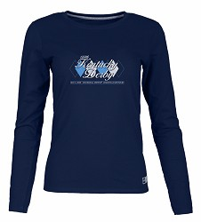Kentucky Derby 144 Ladies' Long-Sleeved Argyle Tee