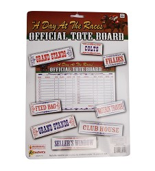 """Day at the Races"" Tote Board"