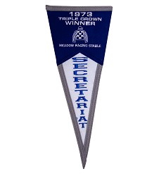 Secretariat Mini Fan Pennant