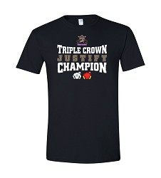 Justify Triple Crown Silks Tee