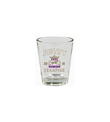 2018 Justify Triple Crown Shot Glass