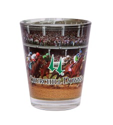 Churchill Downs First Turn Shot Glass