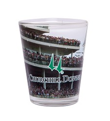 Churchill Downs Grandstand Shot Glass