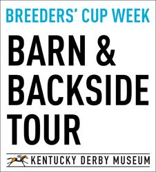 Breeders' Cup Week Barn and Backside Tour