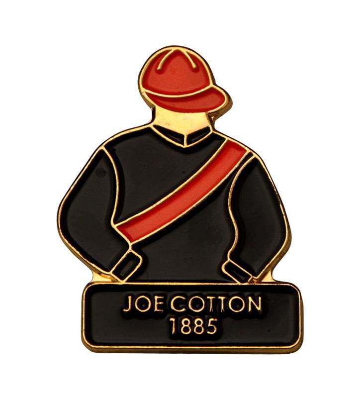 1885 Joe Cotton Tac Pin,1885