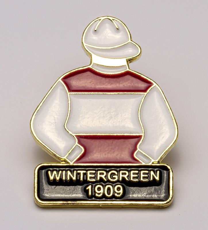 1909 Wintergreen Tac Pin,1909