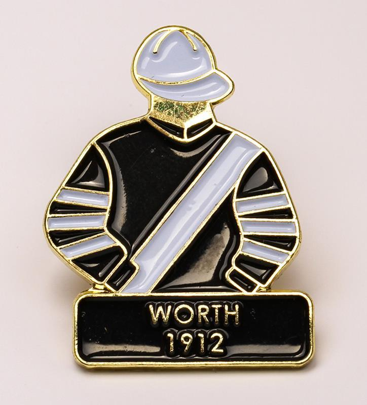 1912 Worth Tac Pin,1912