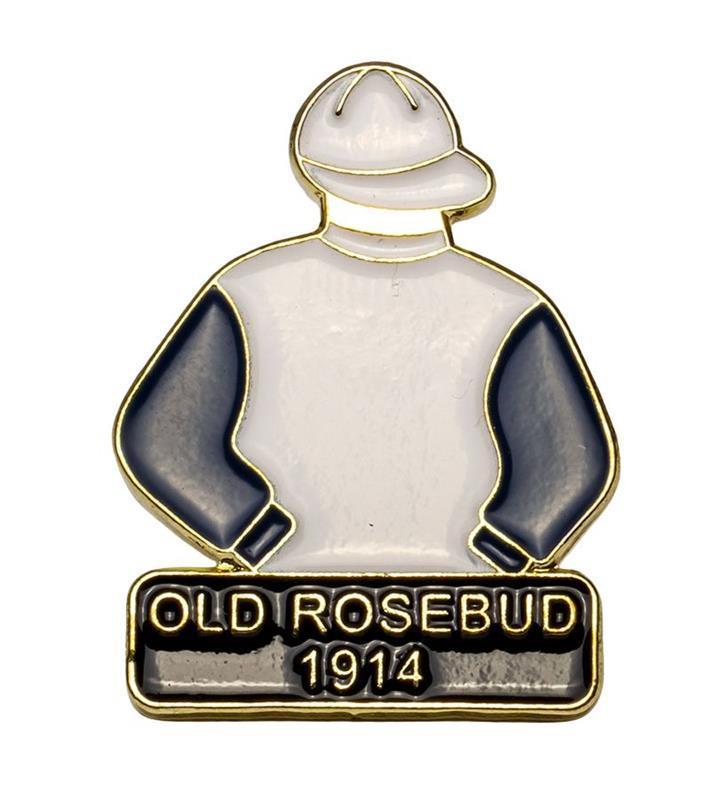 1914 Old Rosebud Tac Pin,1914