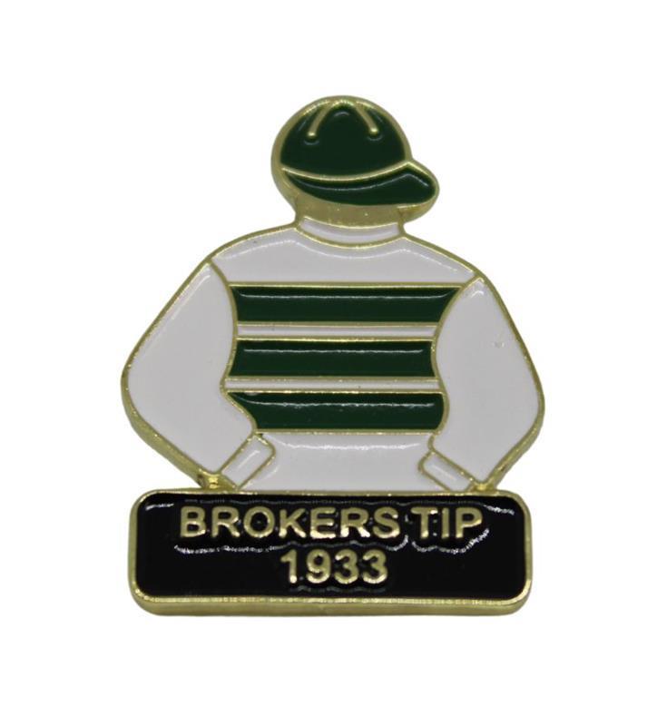 1933 Broker's Tip Tac Pin,1933