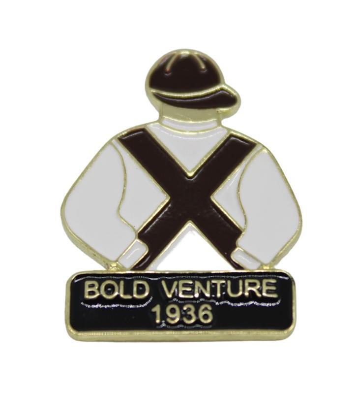 1936 Bold Venture Tac Pin,1936