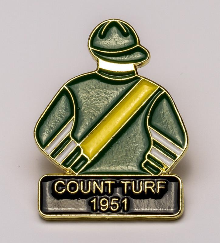 1951 Count Turf Tac Pin,1951