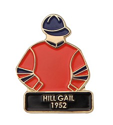 1952 Hill Gail Tac Pin,1952