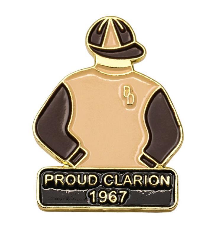 1967 Proud Clarion Tac Pin,1967