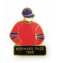 1968 Forward Pass Tac Pin