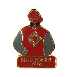 1976 Bold Forbes Tac Pin