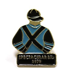 1979 Spectacular Bid Tac Pin