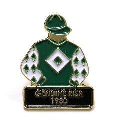 1980 Genuine Risk Tac Pin