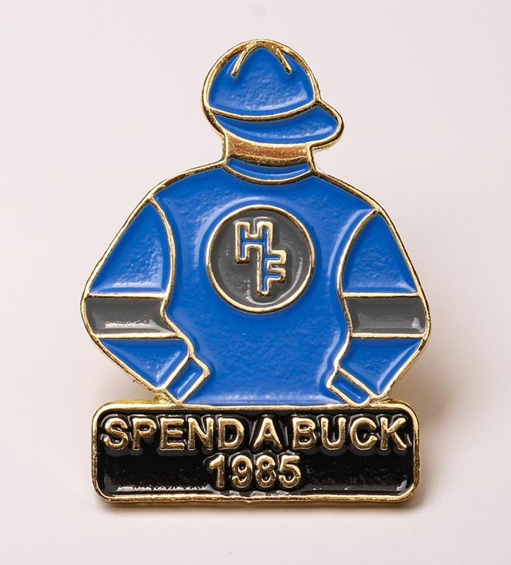1985 Spend A Buck Tac Pin,1985