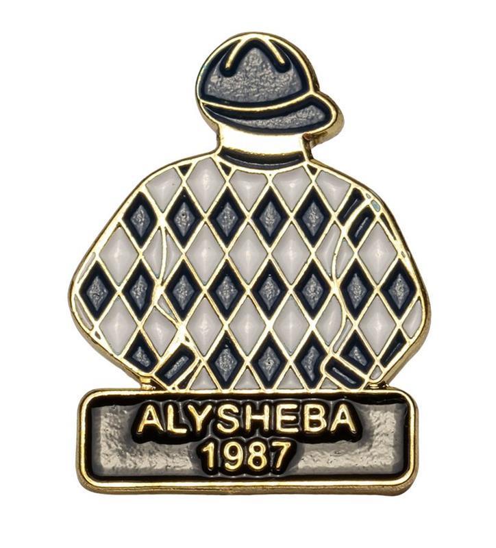 1987 Alysheba Tac Pin,1987