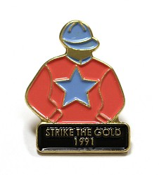 1991 Strike The Gold Tac Pin
