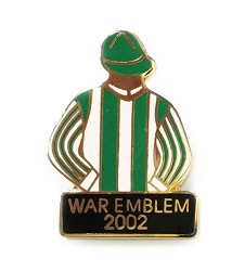 2002 War Emblem Tac Pin