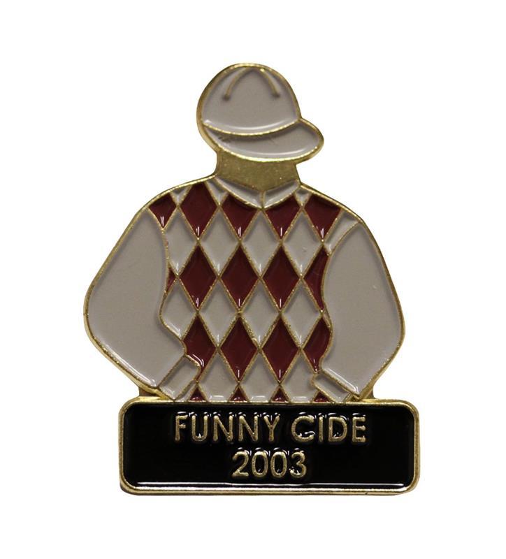 2003 Funny Cide Tac Pin,2003