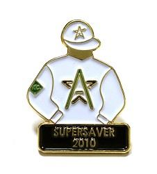 2010 Supersaver Tac Pin