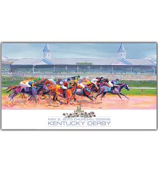 Art of the Derby 2015 Print,SANTINI 2015 AO