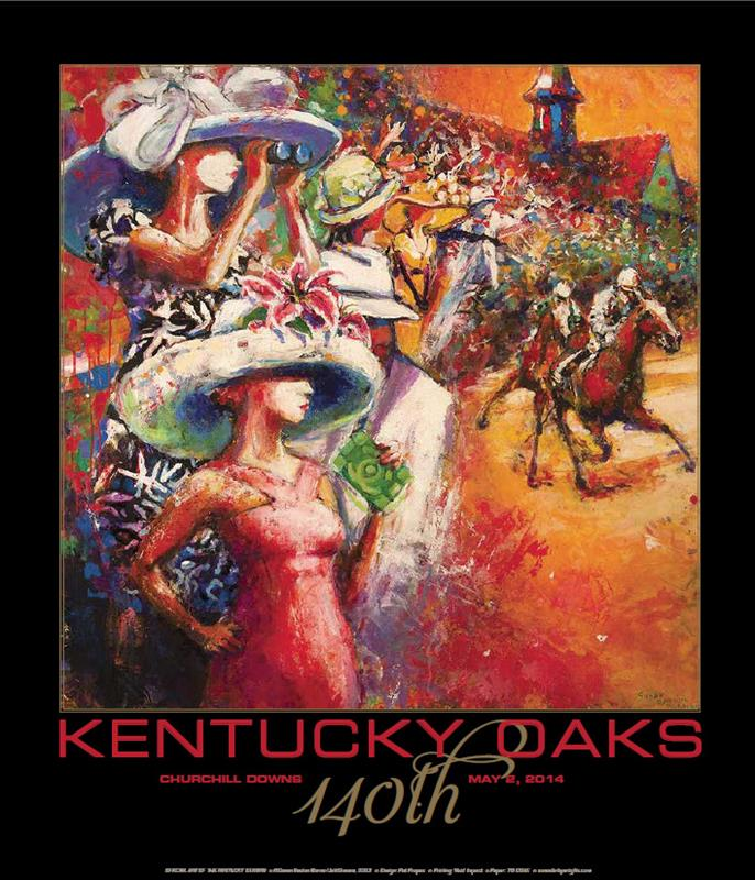 Art of the Oaks 2014 Print,JS14KOP 20X30